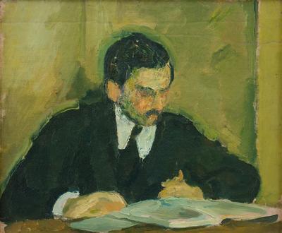 The Painter Ernst Goldschmidt