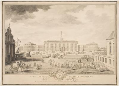 Christiansbourg Palais de Copenhague