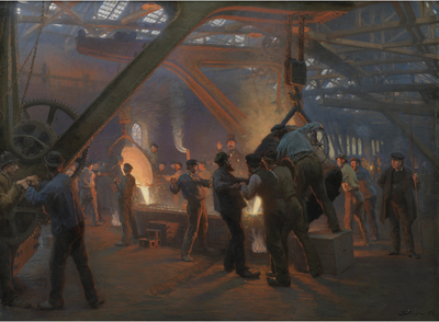 Image from object titled The Iron Foundry, Burmeister and Wain