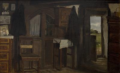 Interiør fra et bondehus