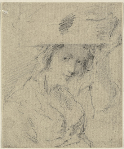 Woman with a basket on her head