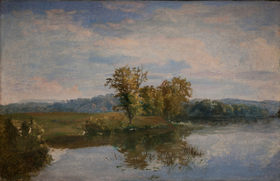 A View of Lake Vejl near Silkeborg, Jutland