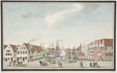 Image from object titled Brygge i Bergen