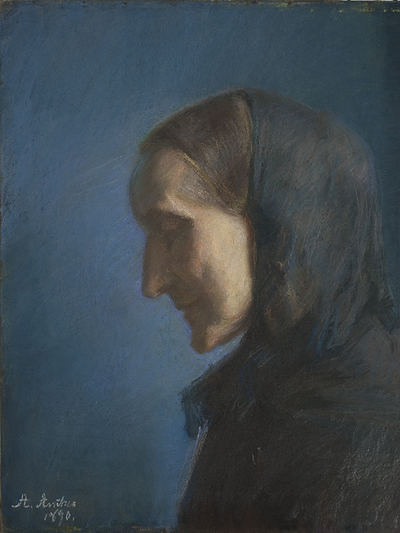 Ane Hedvig Brøndum, the Artist's Mother