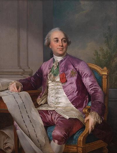 Portrait of Charles-Claude Flahaut de la Billarderie comte d'Angiviller (1730-1809)