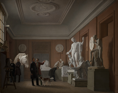 Image from object titled Thorvaldsen's Studio in the Royal Academy of Fine Arts, Copenhagen