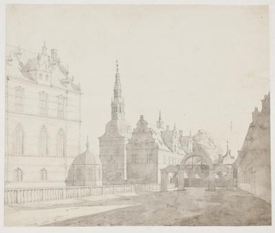 Karusselgården ved Frederiksborg Slot