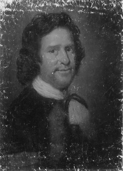 Portrait of a Man in a Black Suit