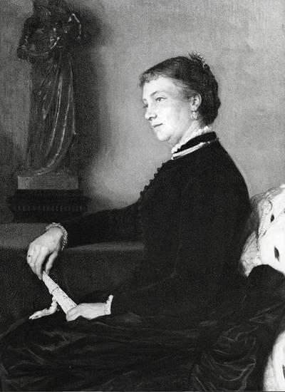 Fru Johanne Andersen, f. Schumacher