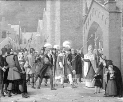 Svend Estridsen and Bishop Vilhelm