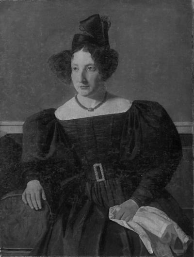 Portrait of Henriette Petersen, née Philipsen, Mrs Michael Christian Petersen
