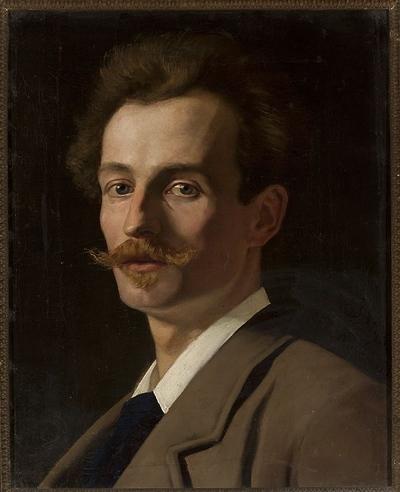 Portret Franciszka Krudowskiego, malarza
