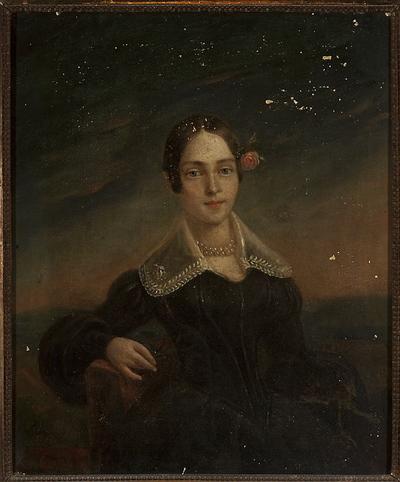 Image from object titled Portret młodej kobiety