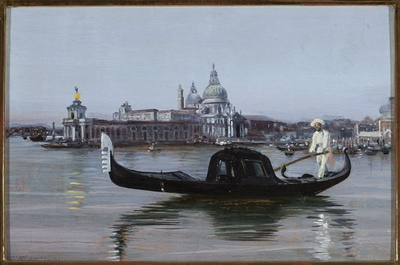Widok Wenecji. Santa Maria della Salute