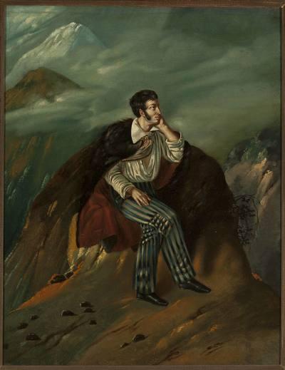 Portret Adama Mickiewicza na Judahu skale