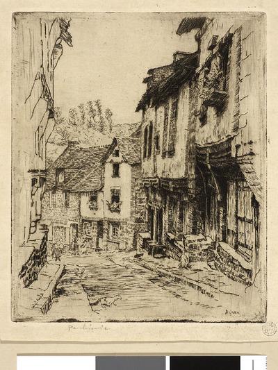 Dinan ; Ulica Jerzual w Dinan II