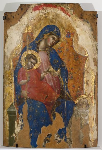 Madonna z Dzieciątkiem i świętym Bernardem