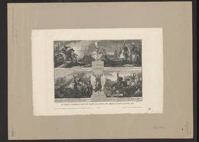 Image from object titled ACTIONS GLORIEUSES ET FAITS D'ARMES DU PRINCE PONIATOWSKI