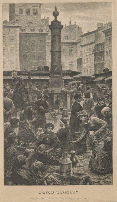 Targ na rynku Starego Miasta