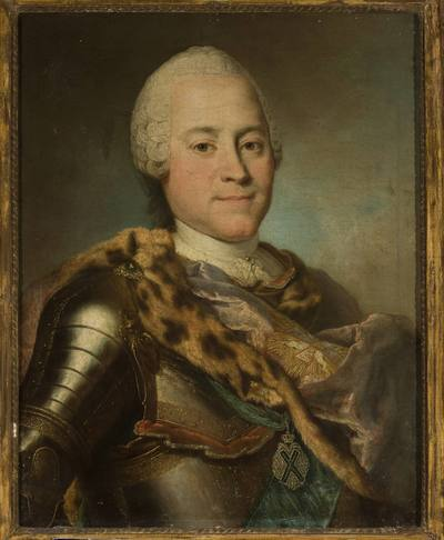 Portret Henryka Brühla (1700-1763)