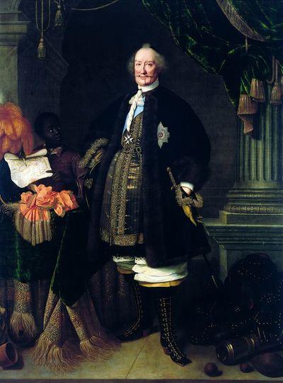 Hrabia Johan Maurits van Nassau-Siegen (1604-1679) jako mistrz zakonu kawalerów maltańskich