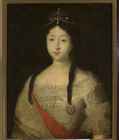 Portret księżniczki Anny Pietrowny