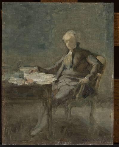 Portret mężczyzny w XVIII-wiecznym stroju