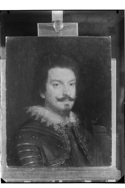 Portret młodego mężczyzny w zbroi