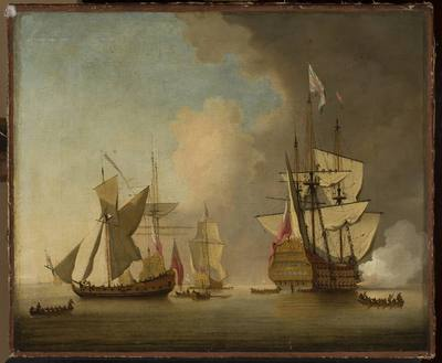 Okręty na morzu