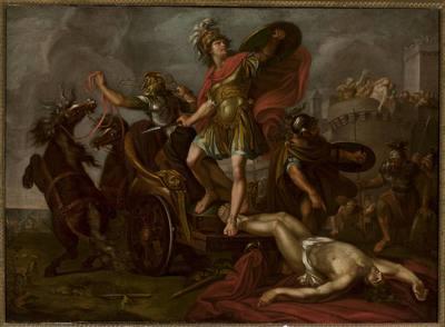 Śmierć Hektora (Achilles ciągnący ciało Hektora)