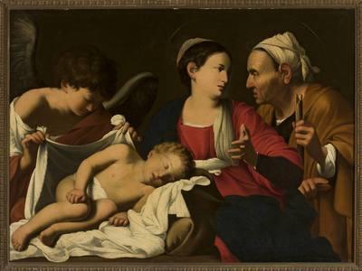 Matka Boska z Dzieciątkiem, św. Anną i Aniołem