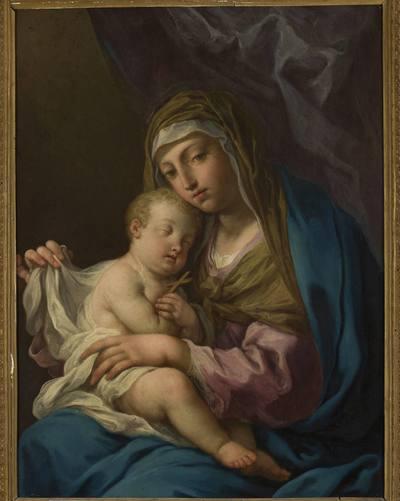 Madonna ze śpiącym Dzieciątkiem