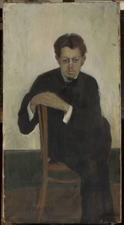 Portret muzyka Korolewa
