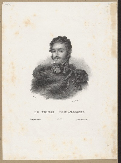 LE PRINCE PONIATOWSKI.