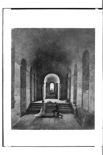 Przysięga (Wnętrze kaplicy)
