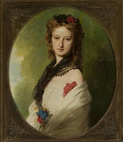 Image from object titled Portret Zofii z Potockich Zamoyskiej
