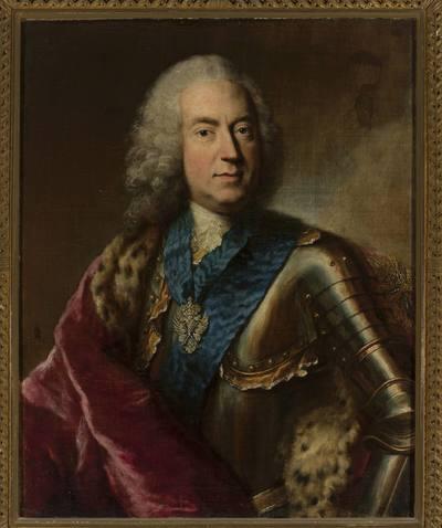 Portret Karola Augusta Rexa, ministra saskiego