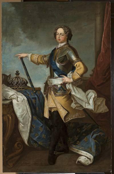 Portret Ludwika XV