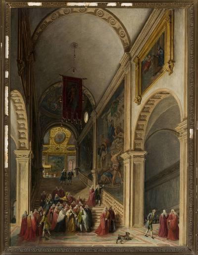 Wizyta doży w Scuola di S.Rocco