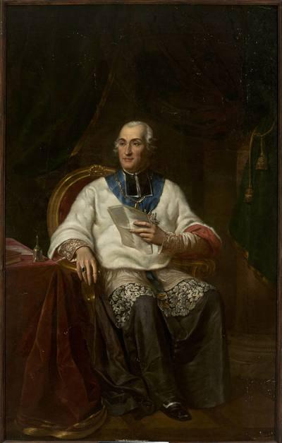 Portret Adama Krasińskiego (1714-1800), biskupa kamienieckiego