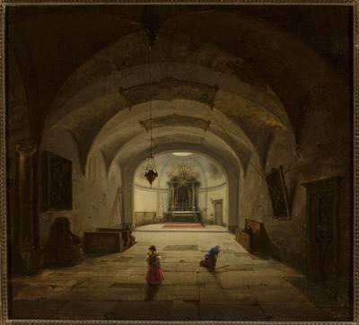 Wnętrze kaplicy podziemnej
