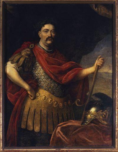 Portret Jana III Sobieskiego (1629-1696), króla Polski