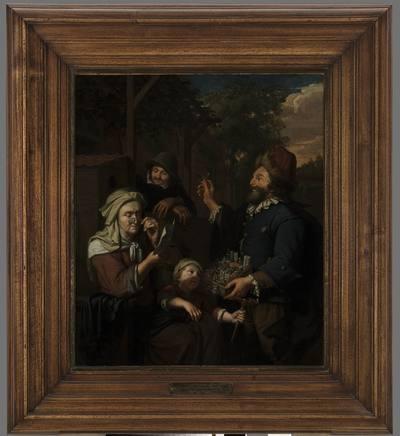 Image from object titled Sprzedawca wędrowny