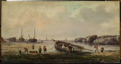 Barki rybackie u brzegu