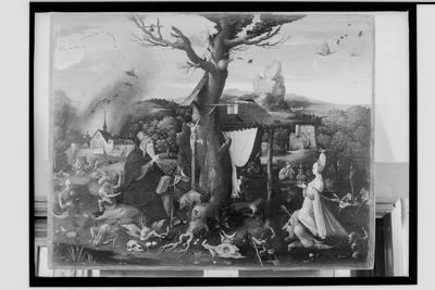 Kuszenie św. Antoniego (Jacobus de Voragine, Legenda aurea, Vitae Patrum)