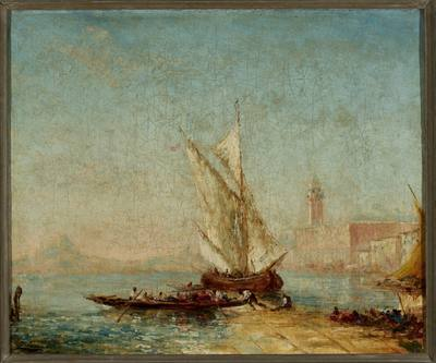 Wenecja ; Wenecja, Riva degli Schiavoni i Pałac Dożów
