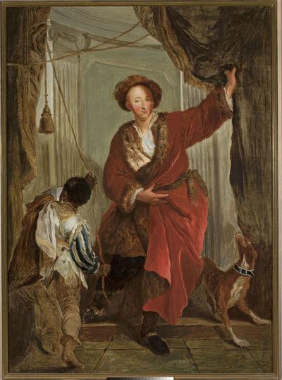 Portret Friedricha Ernsta von Knyphausena
