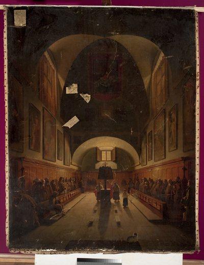 Chór w kościele kapucynów w Rzymie