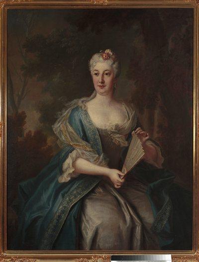 Portret Katarzyny Barbary z Radziwiłłów Branickiej (1693-1730)