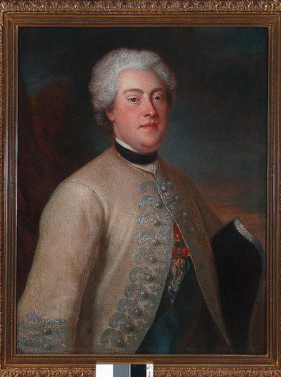 Portret Karola ks.kurlandzkiego, syna Augusta III, męża Franciszki Krasińskiej